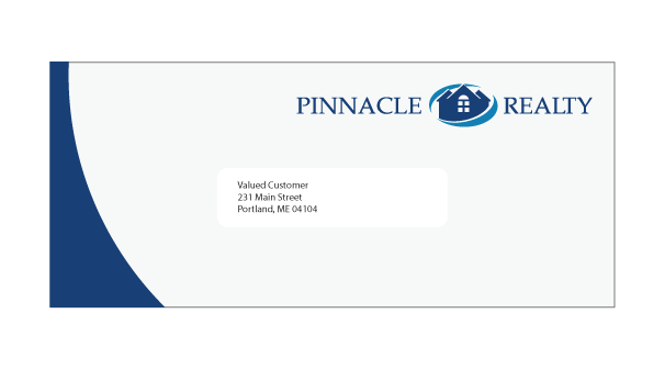 business envelope design template | trattorialeondoro