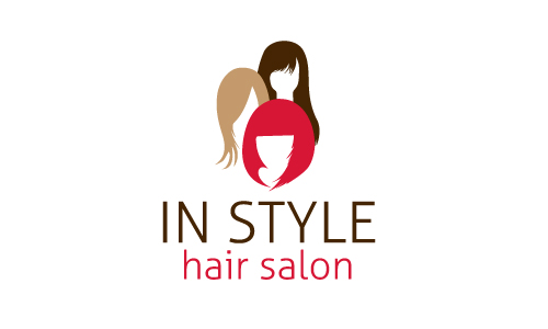 Free hair salon logo design make hair salon logos in minutes for A creative touch beauty salon