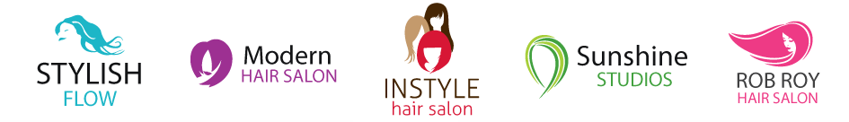 Hair Salon Logos