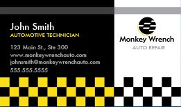 Automotive Business Cards Design Custom Business Cards