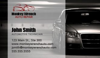 Auto Business Card