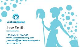 Cleaning business cards design custom business cards for free cleaning business cards reheart Gallery