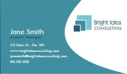 Consulting Business Cards