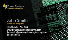 Engineering it business cards design custom business cards browse engineering it business cards flashek Images