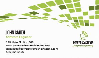 Engineering it business cards design custom business cards custom engineering it business cards flashek Images