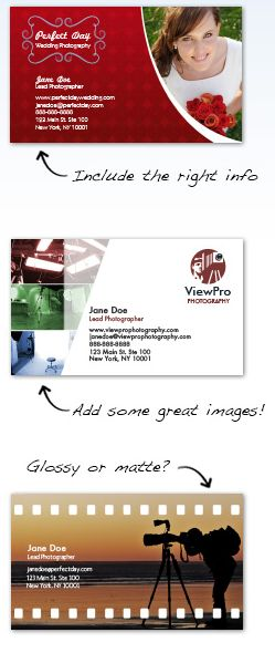 Photography Business Cards Design Custom Business Cards For Free