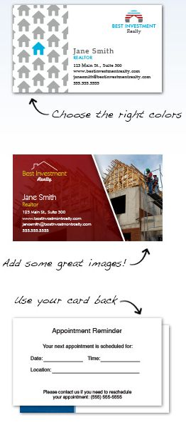 Real Estate Business Cards Design Custom Business Cards For Free