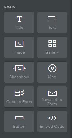 Website Builder Icons