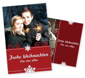 Weihnachtskarten Seite