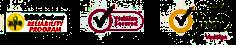 Business验证徽标BBB Verisign Norton