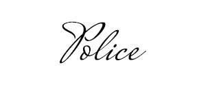 Exemple de style de police cursive