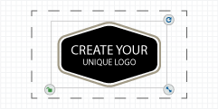 step3: customize your logo