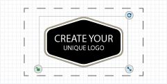 步骤3:自定义你的logo