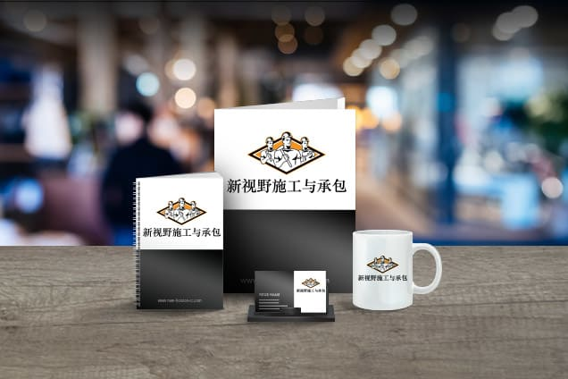 Logo design featured on promotional products