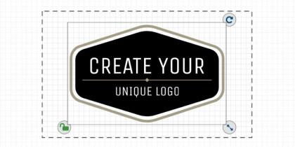 step3: customize your logo